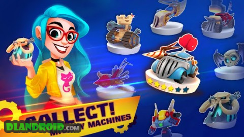 Mighty Machines - Vehicular Combat RPG Apk Mod + OBB Data